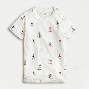 NWT Skiers vintage cotton graphic tee